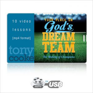 God's Dream Team Video Series on USB by Tony Cooke