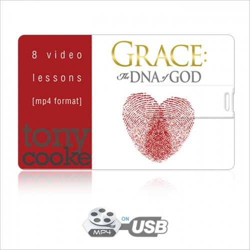 Grace: The DNA of God Video Series on USB by Tony Cooke