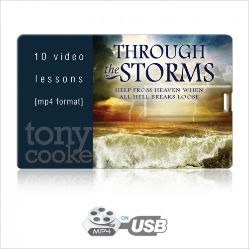Through the Storms Video Series on USB by Tony Cooke