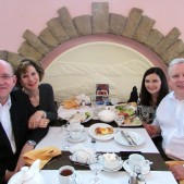 After the morning services, we enjoyed a great lunch with the Renners at an Armenian restaurant very close to the church.