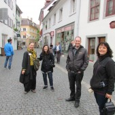 We hired a tour guide to show us the Hus sites in Constance, Germany. It was a great day of learning and touring along with our wonderful hosts, Pastor Peter and Vivian Hasler of Zurich.