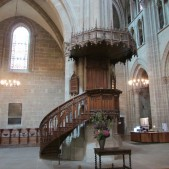Calvin's pulpit.