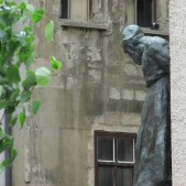 "Perhaps the most gripping thing I saw was the statue of Jeremiah outside of Calvin's church in Geneva. While I don't agree with all Calvin taught, he did stand for the authority and integrity of God's Word. ""Sola Scriptura"" was the heart-cry of the reformation. The statue of Jeremiah is shown weeping, turning away from the front of the church. Our first guide (a few years ago) told us the statue was placed there because the church eventually got away from the authority of Scripture. This trip, Claire, the lady who drove us, said she'd gone to this church a couple of years ago. Around 30 people sat lifelessly and joylessly through a 40 minute service during which the preacher said, ""We don't really know if the resurrection actually took place."" Jeremiah's anguish speaks powerfully to the need for the Church of today return to its apostolic and biblical foundations."