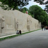 An amazing landmark to the Geneva's religious history is the Reformation Wall.