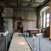 "This is the room where the Luther family took their meals. They often had several students and other ministers eating with them. After meals, Luther would often sit with these folks and share with them about various biblical and ministerial topics. Students recorded many of these discussions and published them in a book called ""Table Talk."""