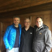 It was a joy touring the Zwingli sites with two Swiss pastors, Erich Engler, and my host, Peter Hasler.