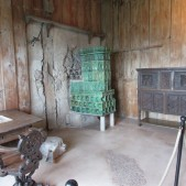 A slightly different view of Luther's room in the Wartburg Castle. That is a stove in the corner.