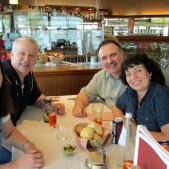 As with all of our hosts on this trip, we enjoyed great fellowship with Pastor Mauro and Connie Girgenti.
