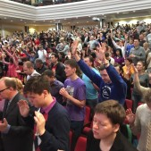 Lisa and I have always been blessed as the Russian believers express their heartfelt and enthusiastic worship unto God. It was a special joy on this trip as we got to see the very beautiful new sanctuary of Good News Church Moscow.