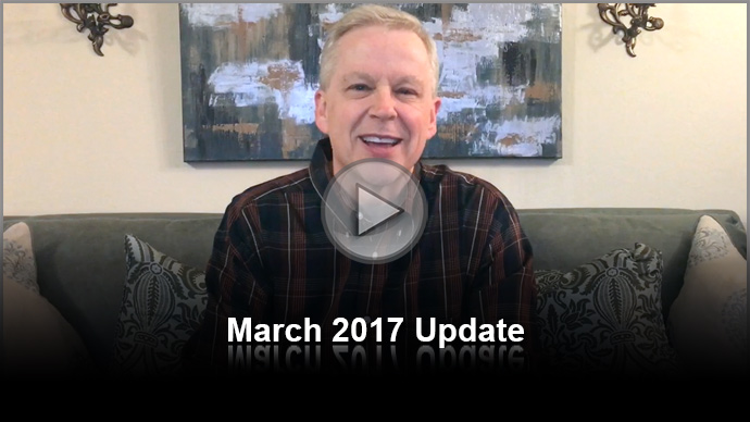 Tony Cooke: March 2017 Update