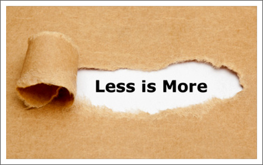 When Less Is Actually More by Ryan Lambert