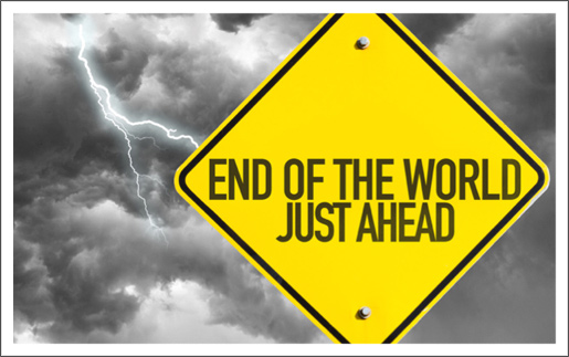 Thoughts on the End of the World by Tony Cooke