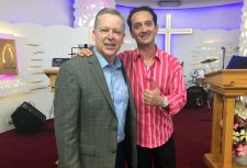 After the tour, Tony and Lisa traveled to Malta and ministered at River of Love Church. Tony is pictured here with Pastor Gordon-John Manche.