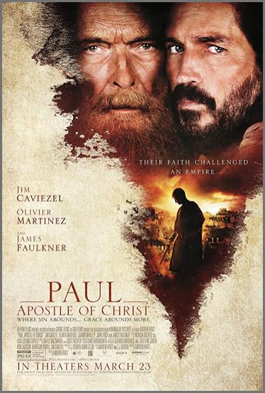 Reflexões sobre o Filme: Paulo, Apóstolo de Cristo by Tony Cooke