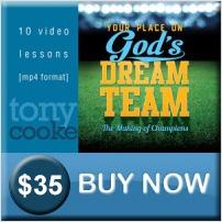 God's Dream Team by Tony Cooke